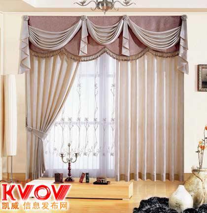 北京窗帘布艺制作厂家图片